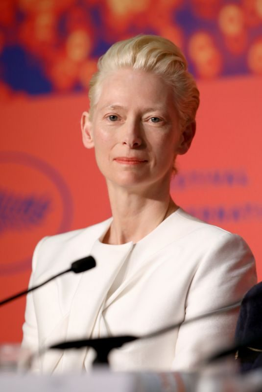 TILDA SWINTON at The Dead Don't Die Press Conference in Cannes 05/15/2019