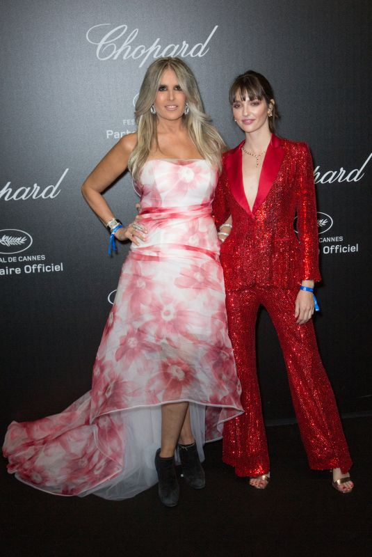 TIZIANA ROCCA at Chopard Party at 2019 Cannes Film Festival 05/17/2019