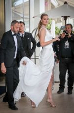 TONI GARRN Out on Croisette at Cannes Film Festival 05/19/2019