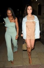 TULISA CONTOSTAVLOS Night Out in Manchester 05/05/2019