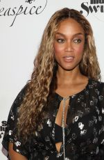 TYRA BANKS at Sports Illustrated Swimsuit 2019 Issue Launch at Seaspice in Miami 05/10/2019
