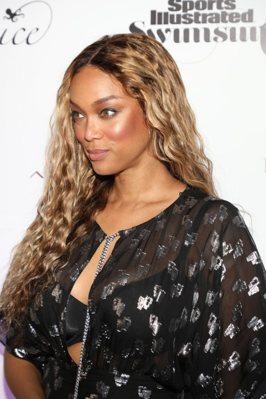 TYRA BANKS at Sports Illustrated Swimsuit 2019 Launch in Miami 05/10/2019