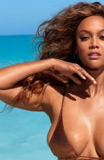 TYRA BANKS in Sports Illustrated Swimsuit 2019 Issue