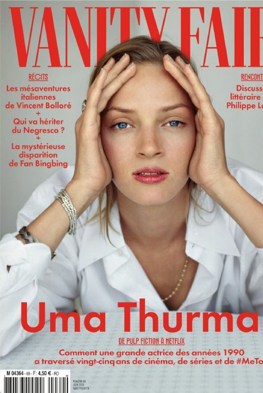 UMA THURMAN in Vanity Fair Magazine, France June 2019