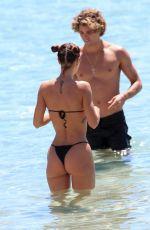 VALENTINA FRADEGRADA in Bikini at a Beach in Ibiza 05/22/2019