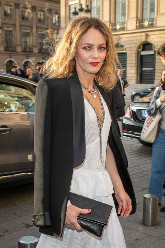 VANESSA PARADIS at Chanel J12 Cocktail in Paris 05/02/2019