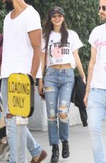 VICTORIA JUSTICE Leaves Spa in Studio City 05/14/2019