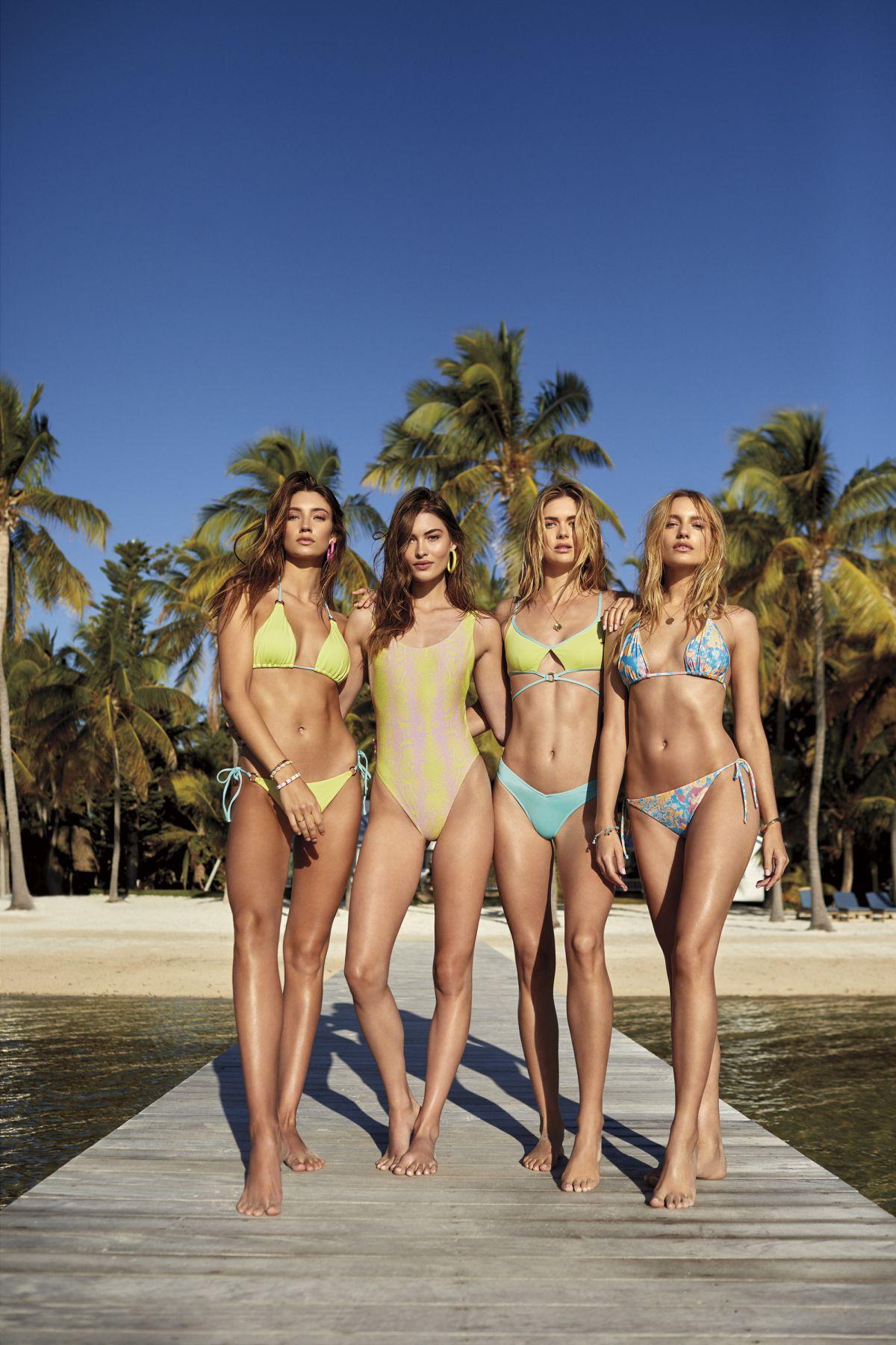 Victorias Secret Models For Vs 2019 Swim Collection Hawtcelebs