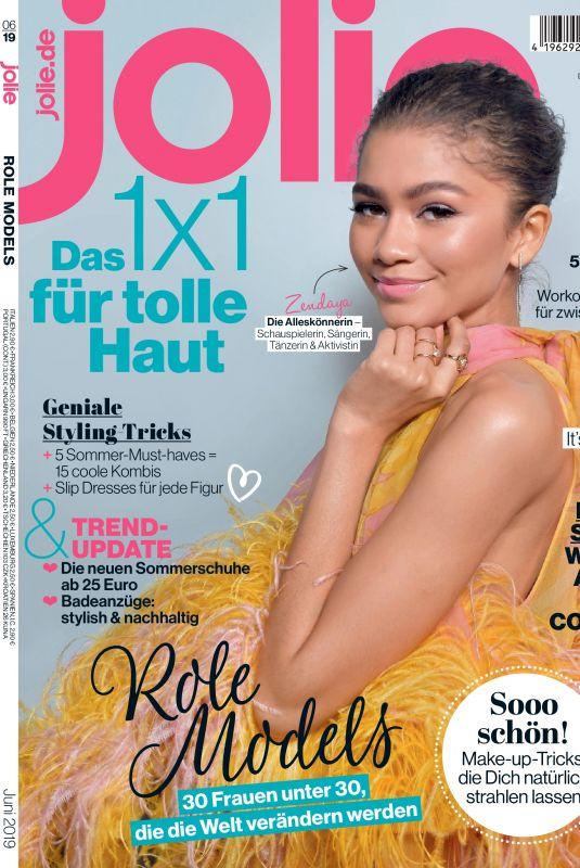 ZENDAYA in Jolie Magazine, June 2019