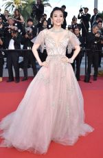 ZHANG ZIYI at 72nd Annual Cannes Film Festival Closing Ceremony 05/25/2019