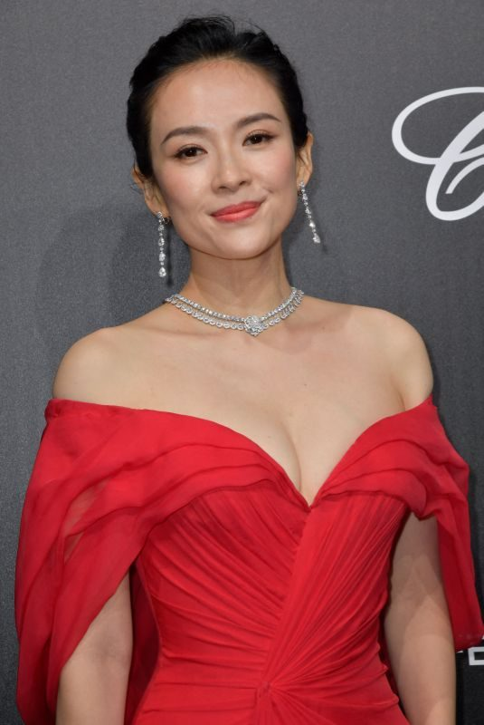 ZHANG ZIYI at Official Trophee Chopard Dinner at Cannes Film Festival 05/20/2019