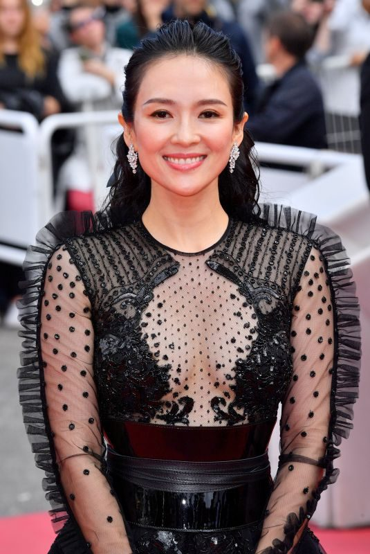 ZHANG ZIYI at Once Upon a Time in Hollywood Screening at 2019 Cannes Film Festival 05/21/2019