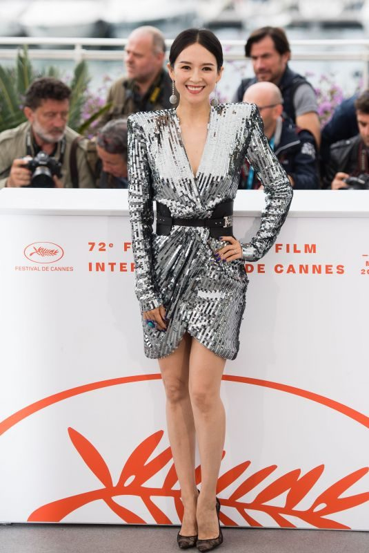 ZHANG ZIYI at Rendez Vous with Zhang Ziyi Photocall at Cannes Film Festival 05/21/2019