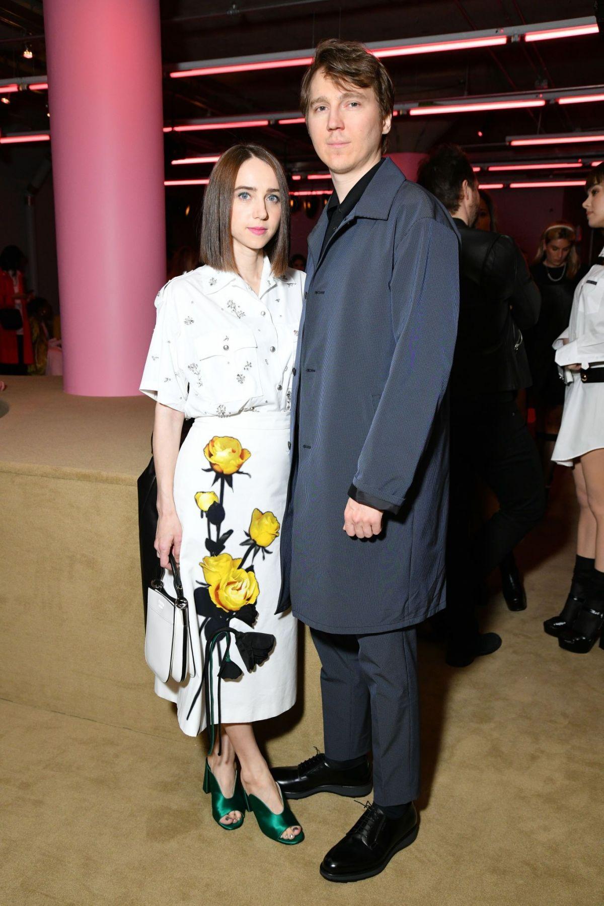 0a5687eec1 ZOE KAZAN at Prada Resort 2020 Fashion Show in New York 05 02 2019 ...