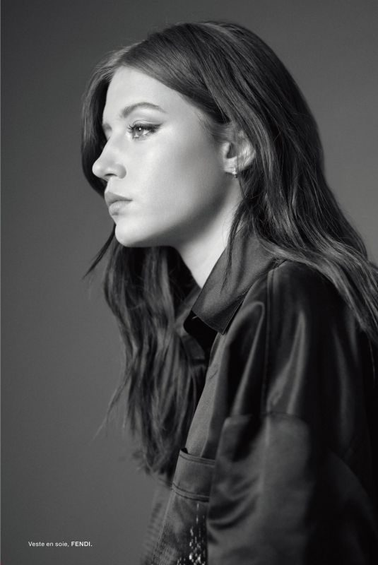 ADELE EXARCHOPOULOS in Numero Magazine, France June/July 2019
