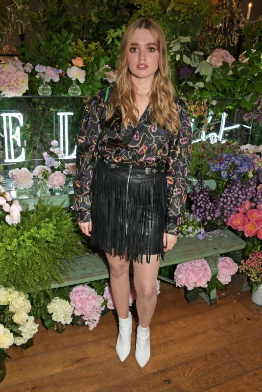 AIMEE LOU WOOD at Elle List in Association with Magnum Ice Cream in London 06/19/2019