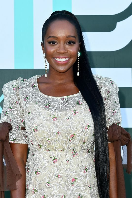 AJA NAOMI KING at Miu Miu Club Event in Paris 06/29/2019