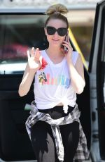 ALESSANDRA TORRESANI at a Gas Station in Studio City 06/08/2019