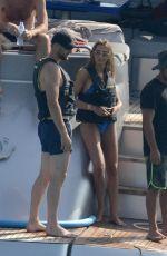 ALESSIA TEDESCHI in Bikini at a Yacht in Formentera 06/25/2019