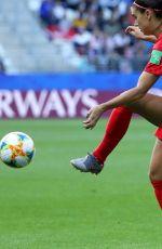 ALEX MORGAN at Fifa World Cup USA vs. Thailand in Reims 06/11/2019