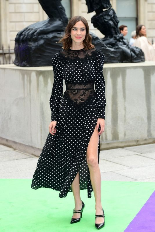 ALEXA CHUNG at Royal Academy of Arts Summer Exhibition Preview Party in London 06/04/2019
