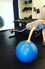 ALEXANDRA DADDARIO Workout at a Gym - Instagram Pictures and Video 05/29/2019