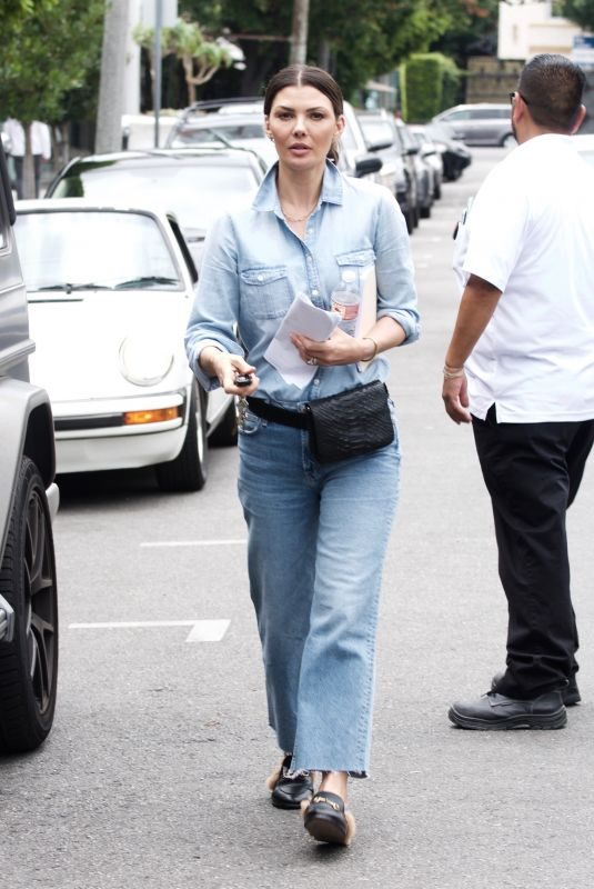 ALI LANDRY Out Shopping on Melrose Place in West Hollywood 06/26/2019