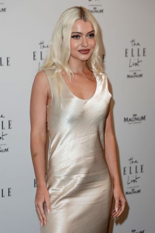 ALICE CHATER at Elle List in Association with Magnum Ice Cream in London 06/19/2019