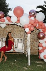 ALICIA AYLIES at Mouratoglou Tennis Academy Charity Gala in Biot 06/23/2019