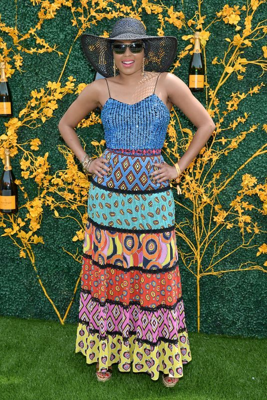 ALICIA QUARLES at 2019 Veuve Clicquot Polo Classic in Jersey City 06/01/2019