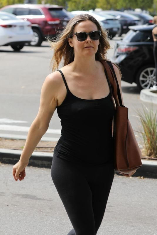 ALICIA SILVERSTONE Out and About in Los Angeles 06/08/2019