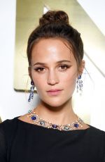 ALICIA VIKANDER at Bvlgari Dinner and Party in Capri 06/13/2019