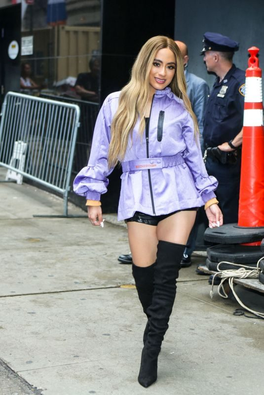 ALLY BROOKE Out and About in New York 06/18/2019
