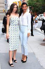 ALYCIA DEBNA-CAREY and DANAY GARCIA Arrives at Build Series in New York 06/03/2019