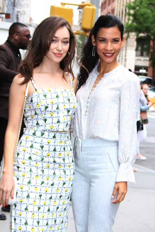 ALYCIA DEBNA-CAREY and DANAY GARCIA Arrives at Build Series in New York 06/03/2019