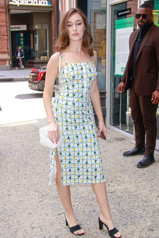 ALYCIA DEBNAM-CAREY Out in New York 06/03/2019