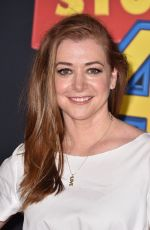 ALYSON HANNIGAN at Toy Story 4 Premiere in Los Angeles 06/11/2019