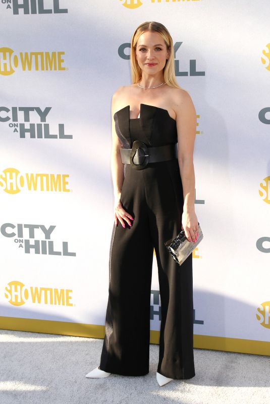 AMANDA CLAYTON at City on a Hill Premiere in New York 06/04/2019