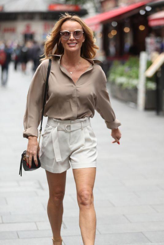 AMANDA HOLDEN Leaves Heart Radio in London 06/26/2019