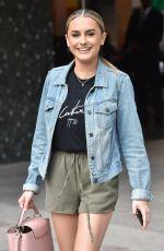 AMBER DAVIES Leaves ITV Studios in London 06/03/2019