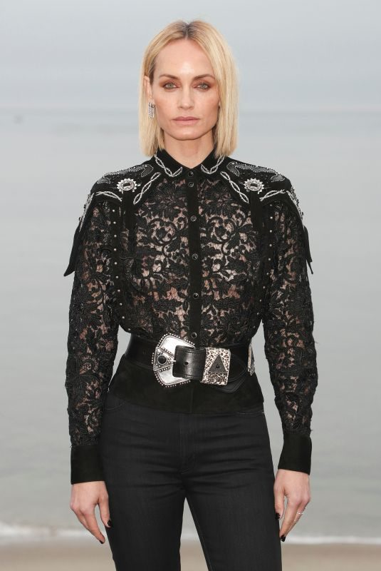 AMBER VALLETTA at Saint Laurent Men's Spring/Summer 2020 Fashion Show in Malibu 06/06/2019