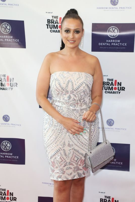 AMEL RACHEDI at Harrow Dental Practice x Brain Tumour Charity Gala Dinner in London 06/22/2019