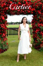 AMY JACKSON at 2019 Cartier Queen's Cup Polo Final in Windsor 06/16/2019