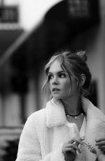 ANASTASIYA SCHEGLOVA - Black and White Photoshoot, March 2019