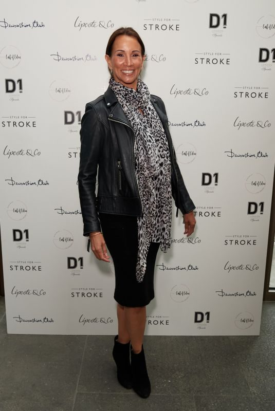 ANDREA MCLEAN at Style for Stroke Launch Party in London 06/04/2019