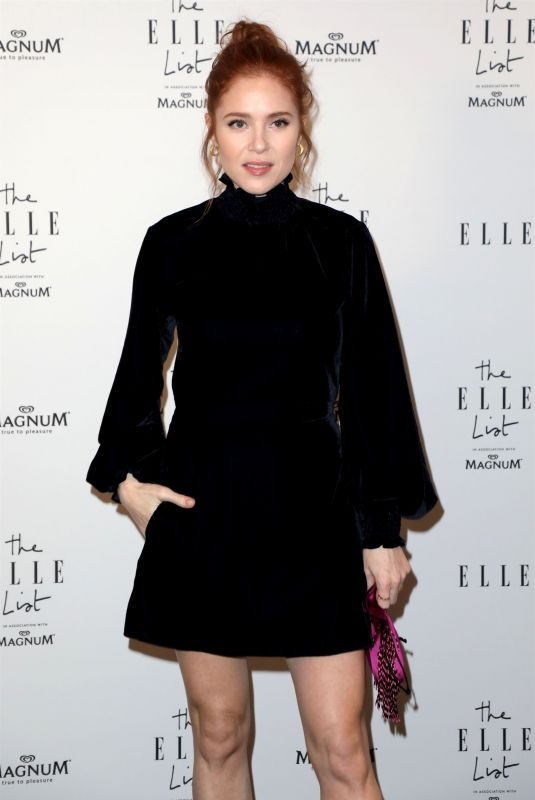 ANGELA SCANLON at Elle List in Association with Magnum Ice Cream in London 06/19/2019