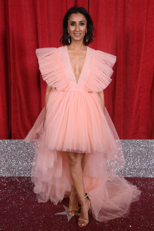 ANITA RANI at British Soap Awards 2019 in Manchester 06/01/2019