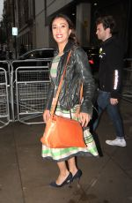 ANITA RANI Leaves The One Show in London 06/10/2019