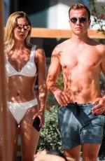 ANN KATHRIN BROMMEL in Bikini at Nobu Hotel in Ibizza 06/29/2019