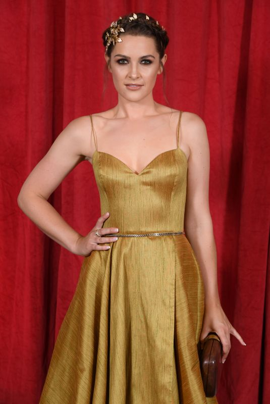 ANNA PASSEY at British Soap Awards 2019 in Manchester 06/01/2019